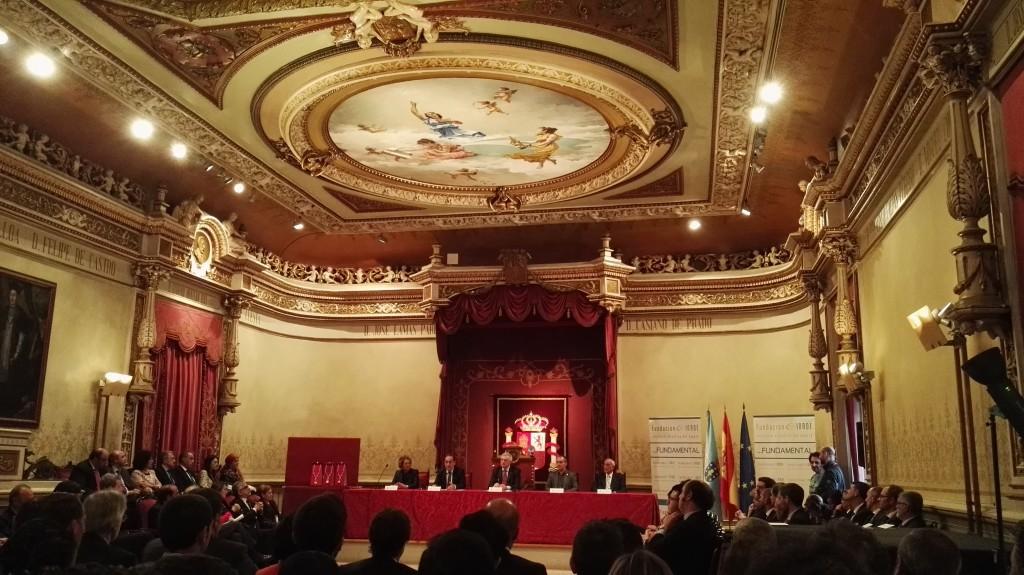 Mesa presidencial Premios Inade 2016