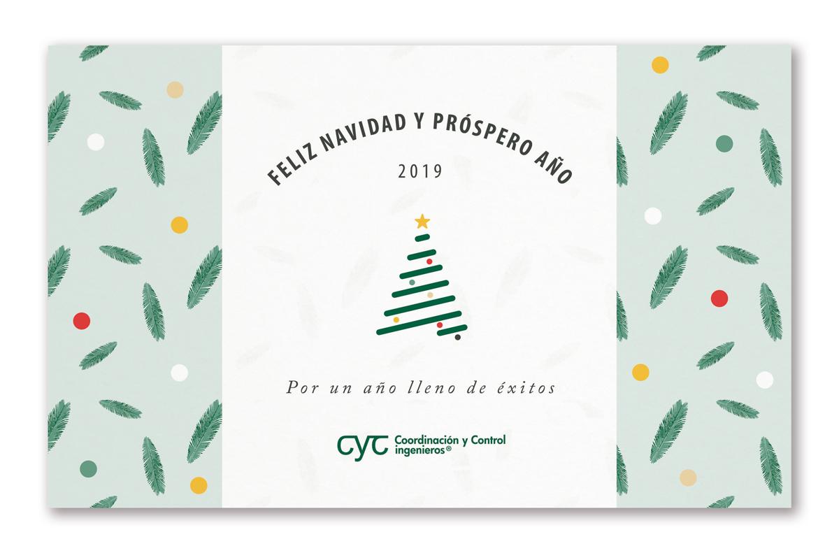 Felicitación navidad CyC gerentes de riesgo Risk management y peritos /lose adjuster